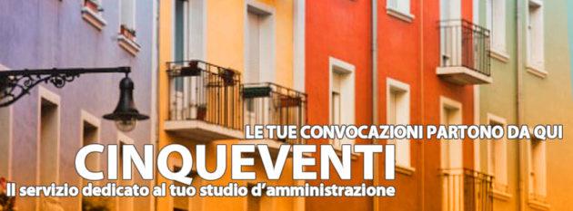 cinqueventi: le tue convocazioni per l'amministrazione del condominio partono da qyu